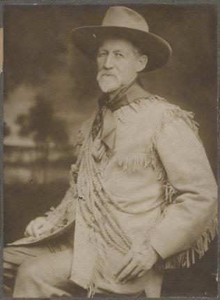 "Portrait of Charles Jesse ""Buffalo"" Jones. Courtesy of the Kansas Memory Archive."