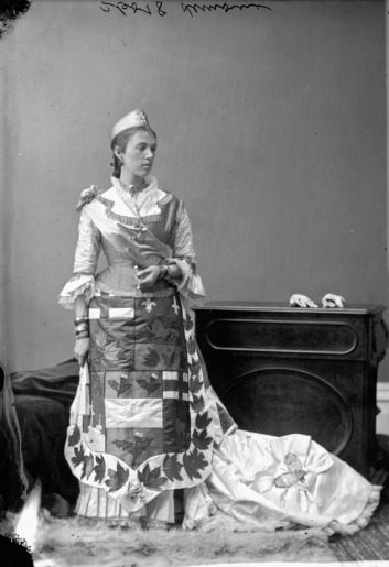 Mrs. St. Denis-Lemoine as The Dominion of Canada. http://collectionscanada.gc.ca/pam_archives/index.php?fuseaction=genitem.displayItem&lang=eng&rec_nbr=3200048